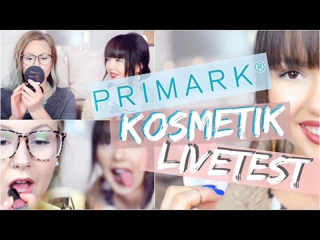 PRIMARK Schminke LIVE TEST ✅ Make Up, Kosmetik | ViktoriaSarina